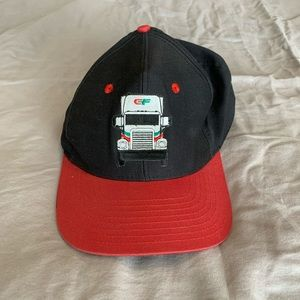 Vintage CF Trucking Hat Made by Tonkin